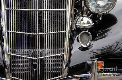 Photograph - 1935 Ford Cabriolet by Rick Bures