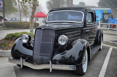 Photograph - 1935 Ford Coupe by Bill Dutting