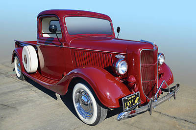 Photograph - 1935 Ford Pickup by Bill Dutting