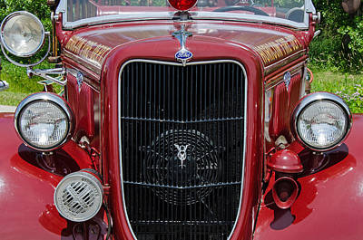 Photograph - 1935 Ford Seagrave by Susan McMenamin
