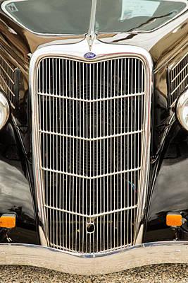 1935 Ford Sedan Vintage Antique Classic Car Art Prints 5044.02 Art Print