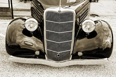 Photograph - 1935 Ford Sedan Vintage Antique Classic Car Art Prints 5062.01 by M K  Miller