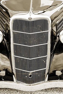 Photograph - 1935 Ford Sedan Vintage Antique Classic Car Art Prints 5063.01 by M K  Miller