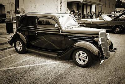 1935 Ford Sedan Vintage Antique Classic Car Art Prints 5065.01 Art Print