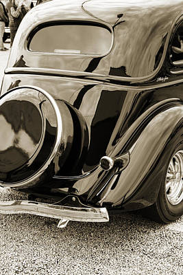 Photograph - 1935 Ford Sedan Vintage Antique Classic Car Art Prints 5066.01 by M K  Miller