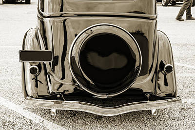 Photograph - 1935 Ford Sedan Vintage Antique Classic Car Art Prints 5067.01 by M K  Miller