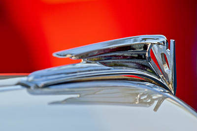 1935 Ford V8 Hood Ornament 3 Art Print by Jill Reger