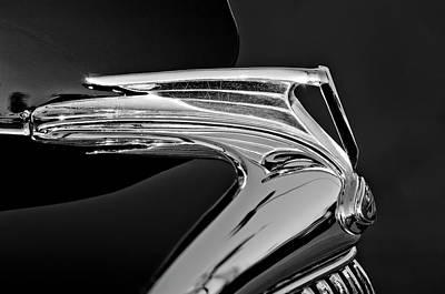 Best Stock Photograph - 1935 Ford V8 Hood Ornament 5 by Jill Reger