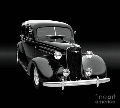 1935 Chevrolet Sedan Photograph - 1935 Master Sedan by Thomas Burtney