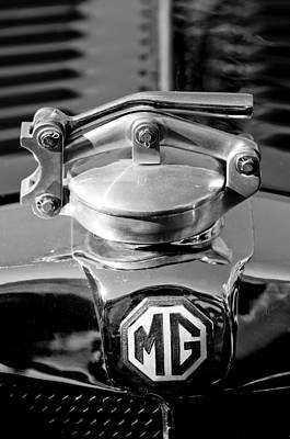 Photograph - 1935 Mg Na Magnette Hood Ornament 2 by Jill Reger
