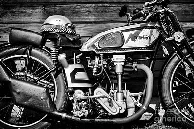 Photograph - 1935 Norton Model 30 Motorcycle by Tim Gainey