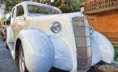 Photograph - 1935 Plymouth Coupe Series 3 Of 3 by Mary Lou Chmura