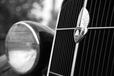 1935 Plymouth Emblem - Chrysler Motors Product Art Print by Gordon Dean II