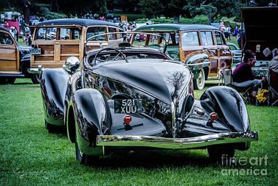 It Polish Photograph - 1936 Auburn 852  by Customikes Fun Photography and Film Aka K Mikael Wallin