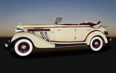 Photograph - 1936 Auburn 852 Phaeton  -  1936auburnphaeton852171642 by Frank J Benz