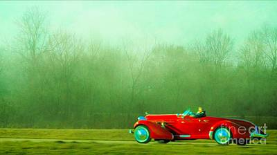 Photograph - 1936 Auburn Speedster by Janette Boyd