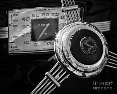 Photograph - 1936 Buick Steering 2 by Dennis Hedberg