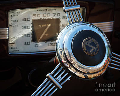Photograph - 1936 Buick Steering by Dennis Hedberg