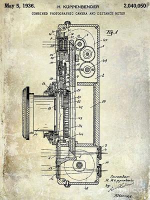 35mm Photograph - 1936 Camera Patent by Jon Neidert