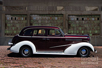 Chev Deluxe Photograph - 1936 Chev Master Deluxe by Nick Gray