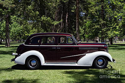 Chev Deluxe Photograph - 1936 Chevrolet Master Deluxe by Nick Gray