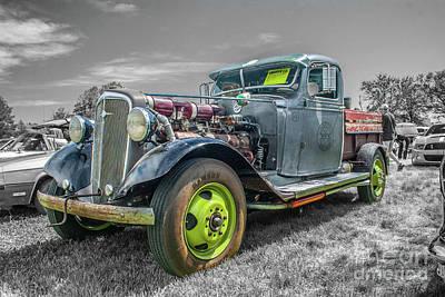 Photograph - 1936 Chevrolet by Tony Baca