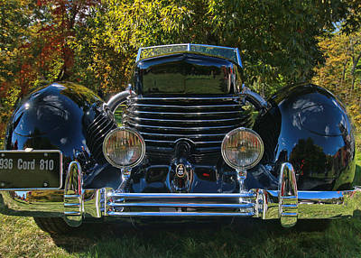 Photograph - 1936 Cord 810 Phaeton by Allen Beatty