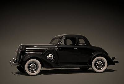 Photograph - 1936 Dodge  Coupe by TeeMack