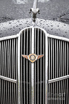 Photograph - 1936 Dodge Grille by Dennis Hedberg