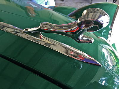 Photograph - 1936 Dodge Ram Hood Ornament by Denise Mazzocco