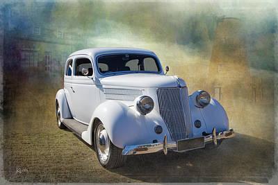 1936 Ford Art Print by Keith Hawley