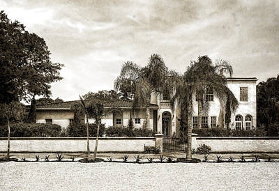 Photograph - 1936 Mediterranean Style Home - 63 by Frank J Benz