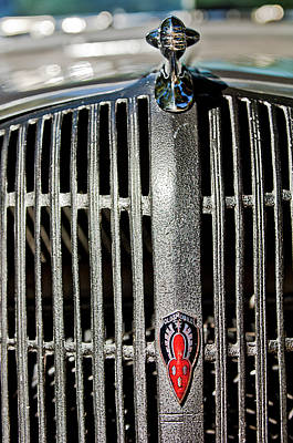 Photograph - 1936 Oldsmobile Grille by Jill Reger