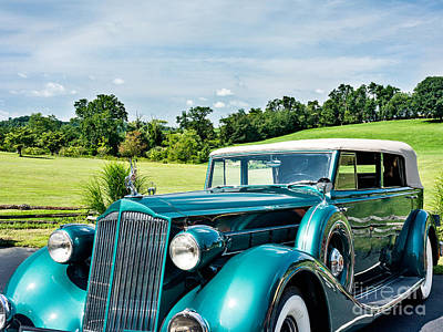 Photograph - 1936 Packard by John Waclo