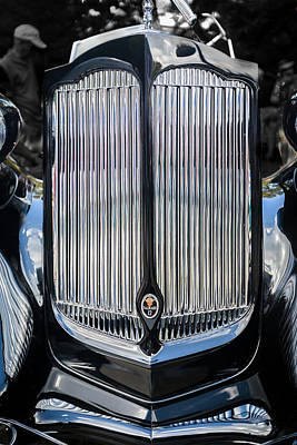 Photograph - 1936 Packard Twelve Tailback Speedster by Jack R Perry