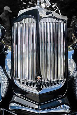 1936 Packard Twelve Tailback Speedster Art Print
