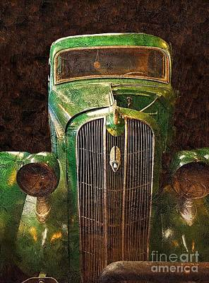 Photograph - 1936 Plymouth by Anne Sands