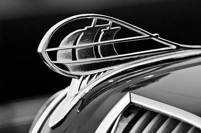 1936 Plymouth Sedan Hood Ornament 2 Art Print by Jill Reger