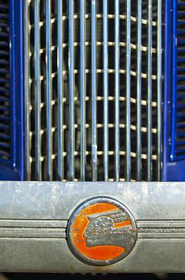 Photograph - 1936 Pontiac Emblem by Jill Reger