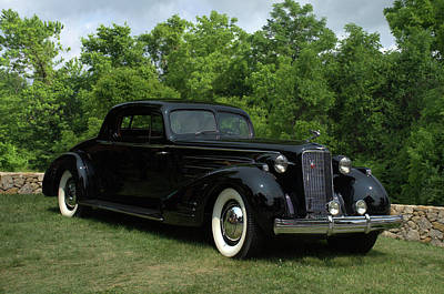 Photograph - 1937 Cadillac V16 Fleetwood Stationary Coupe by Tim McCullough