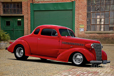 Photograph - 1937 Chevrolet Business Coupe II by Dave Koontz