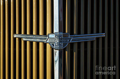 Photograph - 1937 Chevrolet Grille by Dennis Hedberg