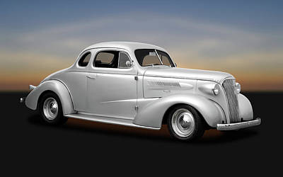 Photograph - 1937 Chevrolet Master Deluxe  -  1937chevycoupe170250 by Frank J Benz