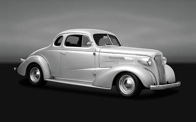 Photograph - 1937 Chevrolet Master Deluxe  -  1937chevycpegry170250 by Frank J Benz