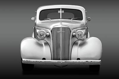 Photograph - 1937 Chevrolet Master Deluxe  -  37chevcoupefa170256 by Frank J Benz
