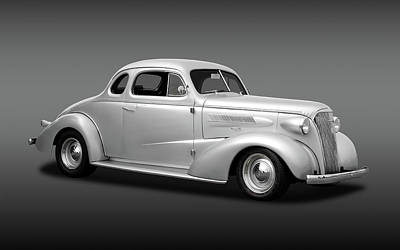 Photograph - 1937 Chevrolet Master Deluxe  -  37chevycoupefa170250 by Frank J Benz