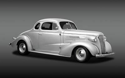 1937 Chevrolet Master Deluxe  -  37chevycoupefa170250 Art Print by Frank J Benz