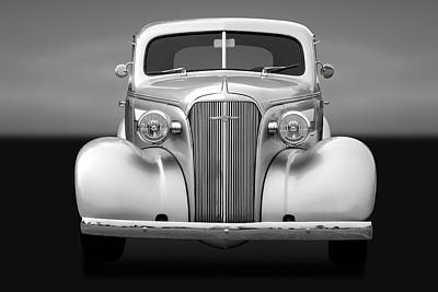 Photograph - 1937 Chevrolet Master Deluxe  -  37chevycpegry170256 by Frank J Benz
