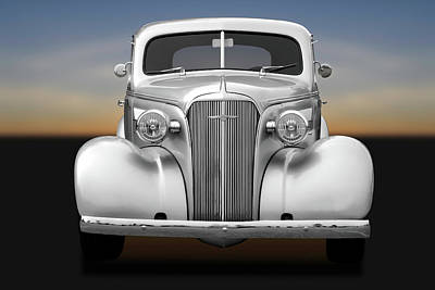 1937 Chevrolet Master Deluxe  - 37chevycoupe170256 Art Print by Frank J Benz