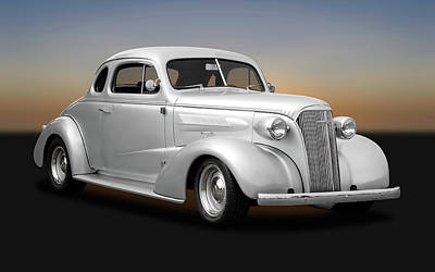 Photograph - 1937 Chevrolet Master Deluxe Custom 2 Door Coupe  -  1937chevycoupe170251 by Frank J Benz